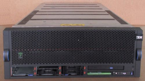 IBM Power 770 9117-MMB 2x PPC 8-Core Power7+ 3.1GHz 6 Bay 128GB DVD RW 4U Server